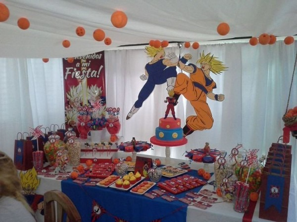Pin By Autumn Martin On Dragon Ball Z Birthday Party In 2018