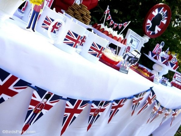 A British Inspired London Uk Party With Printables In 2018