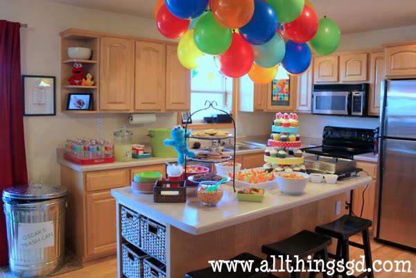 Kate's Sesame Street Birthday Party