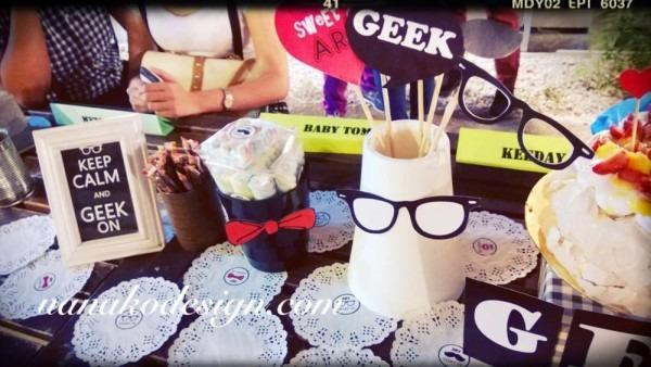Geek , Nerd Birthday Party Ideas