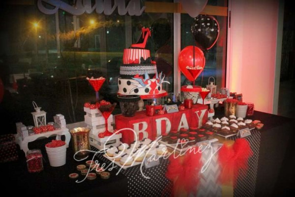Pin Up Birthday Party Ideas