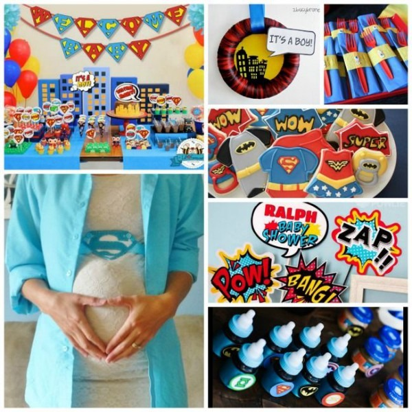 Fantastic} Superhero Baby Shower Ideas