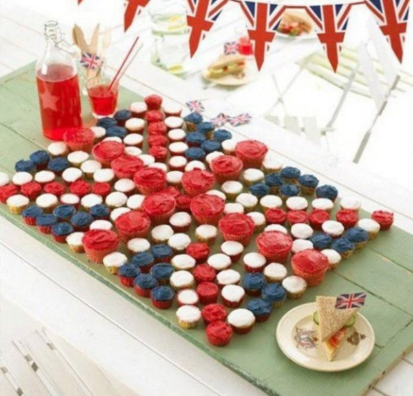 British Themed Party Food …