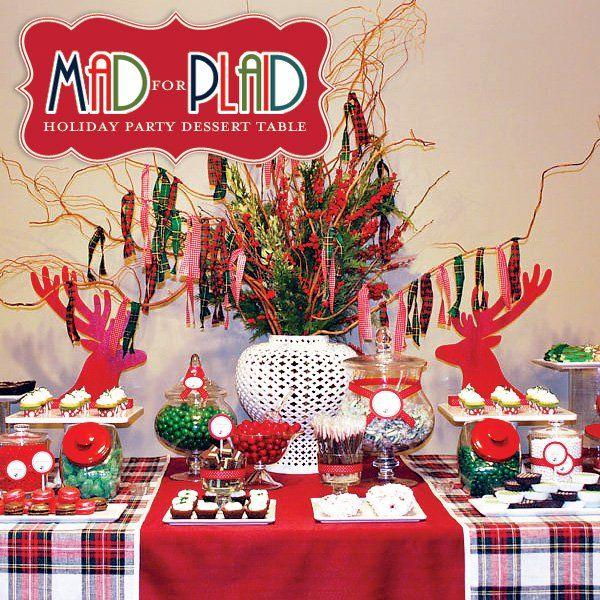Christmas Dessert Table Decorations – Loris Decoration