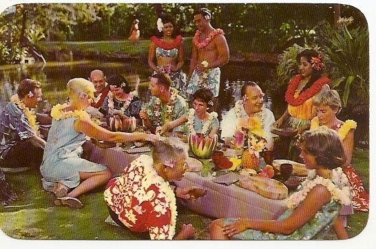 Retro Hawaiian Party
