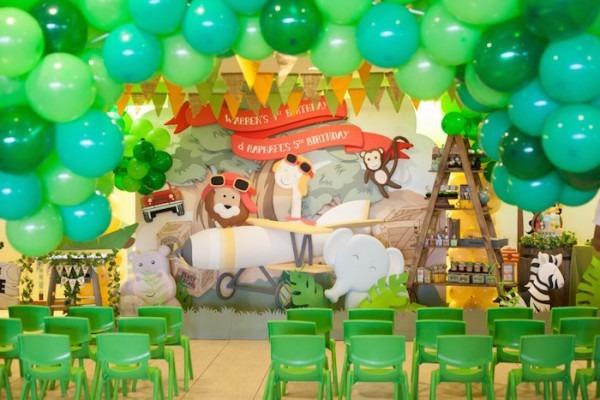 Kara's Party Ideas Animal Safari Birthday Party