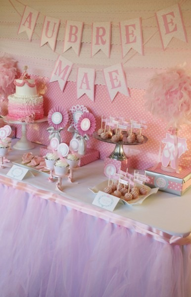 Perfect Baby Shower Candy Table 16