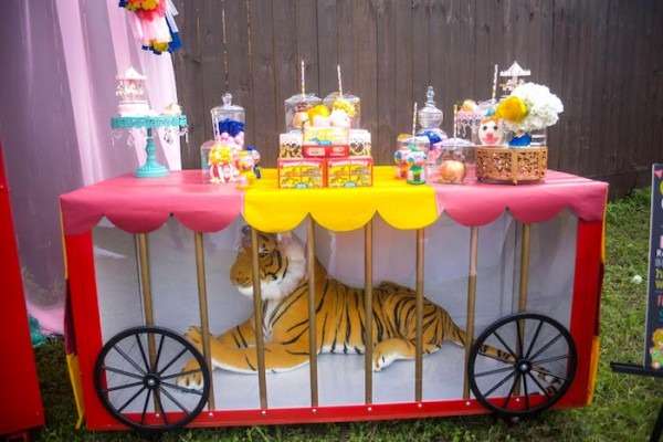Kara's Party Ideas Backyard Carnival Birthday Party