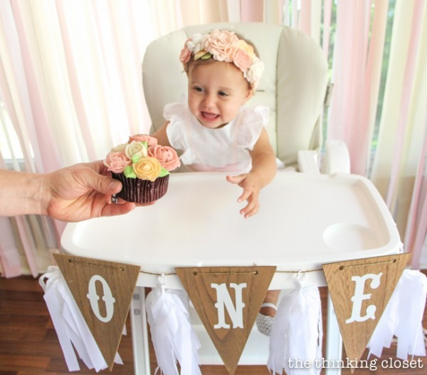 Juniper's Blooming First Birthday Bash