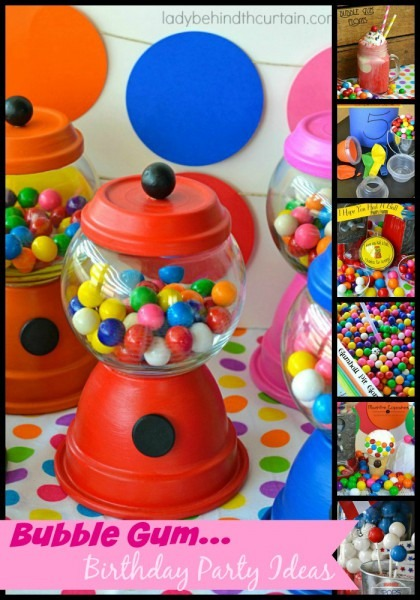 Diy Gumball Machine Party Favors By Lady Behind The Curtain @foodblogs