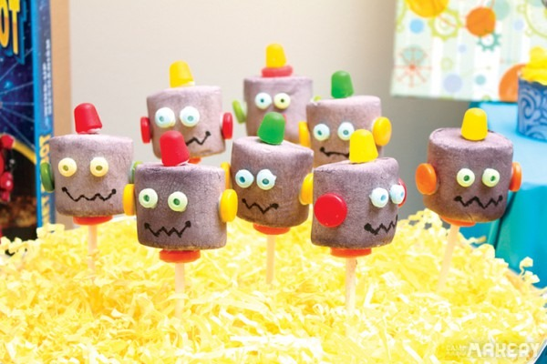 10 Retro Robot Birthday Party Ideas