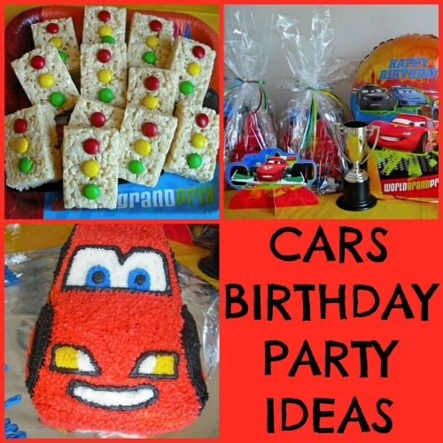 Disney Cars Themed Birthday Party Ideas