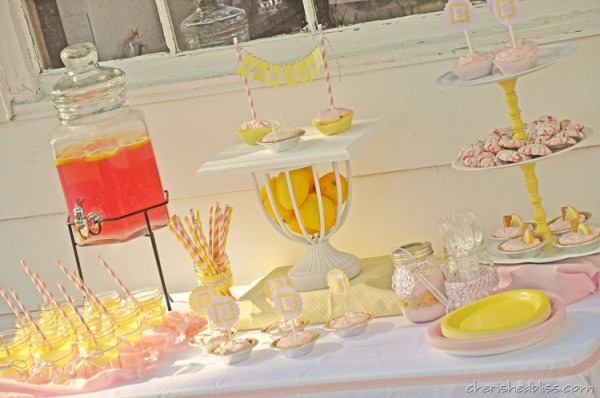 A Pink Lemonade Party