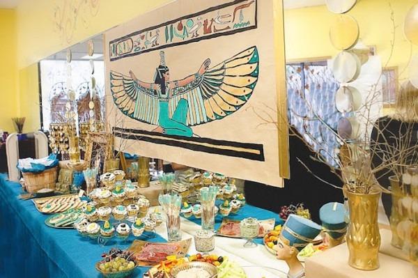 Kara's Party Ideas Cleopatra + Egyptian Themed Birthday Party