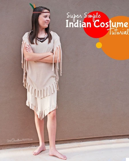 Easiest Indian Costume Ever!!!