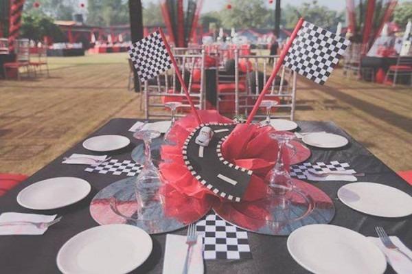 Kara's Party Ideas Ferrari Themed 1st Birthday Party