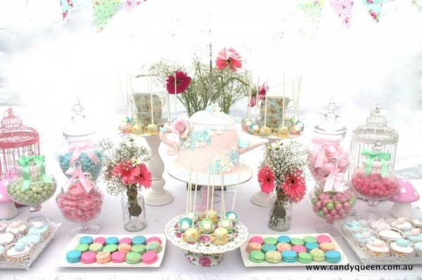 Kara's Party Ideas Floral High Tea Bridal Shower {party, Planning