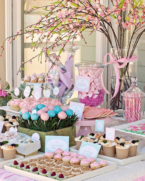 Sweet Customers} Chloe's Flower Garden First Birthday Party!