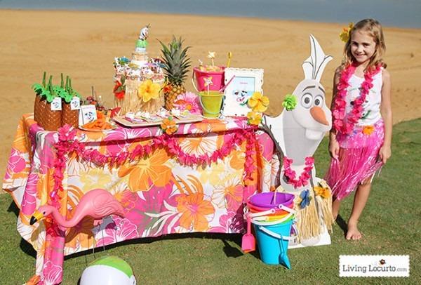 Disney Frozen Summer Birthday Party Ideas