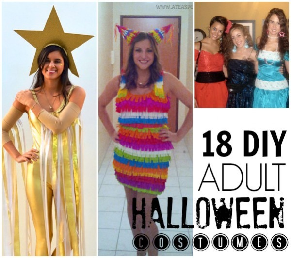 18 Diy Halloween Costumes For Adults