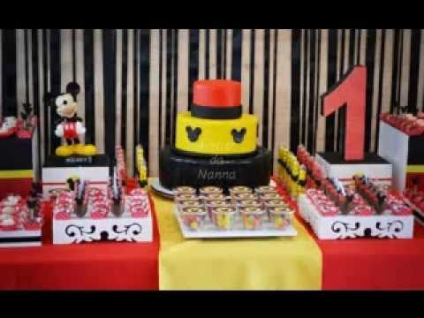 Diy Mickey Mouse Party Decorations
