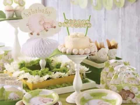 Diy Lamb Baby Shower Decorations Ideas
