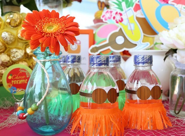 Kara's Party Ideas Hawaiian Luau Baby Shower