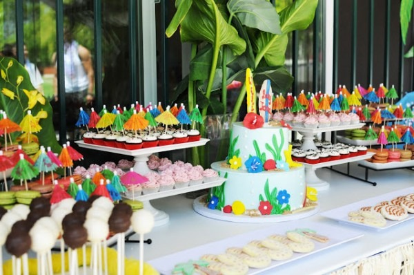 Luau Baby Shower Ideas Full Color