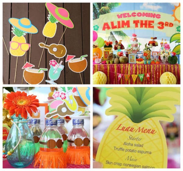Luau Baby Shower Ideas With Decorations