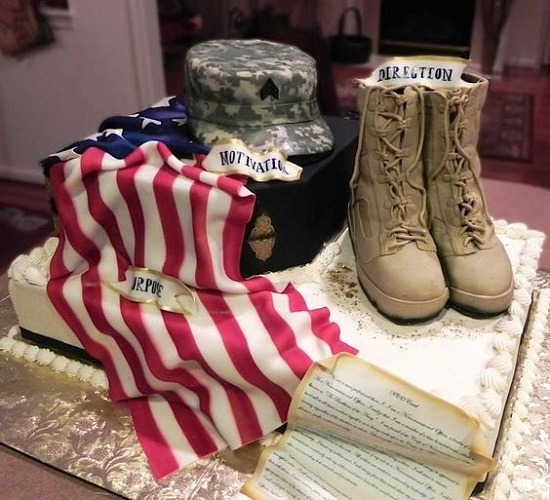 Prepare A Military Cake For Your Amazing Soldier
