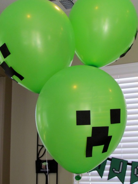 7 Things You Must Have At Your Minecraft Party