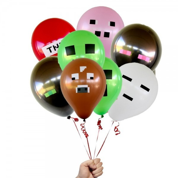 Aliexpress Com   Buy Minecraft Tnt Creeper Big Cow Balloons Latex