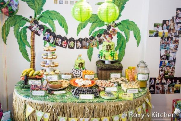 Safari   Jungle Themed First Birthday Party Part I – Dessert Ideas