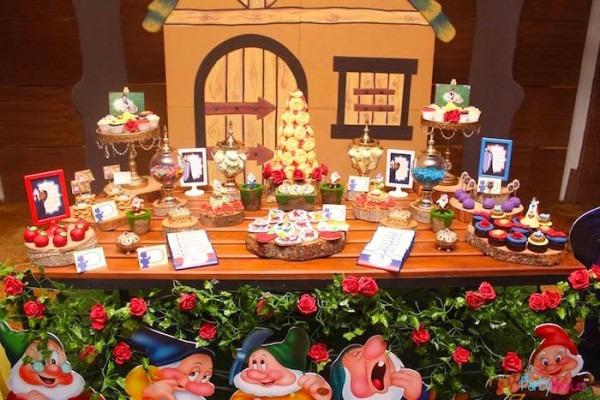 Kara's Party Ideas Snow White & The Seven Dwarfs Birthday Party