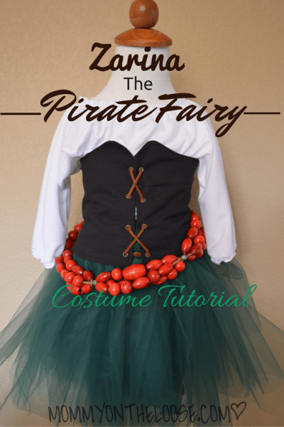 Zarina, The Pirate Fairy Costume Tutorial  The Skirt & Belt