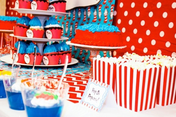 Thing 1 And Thing 2 Birthday Party Supplies