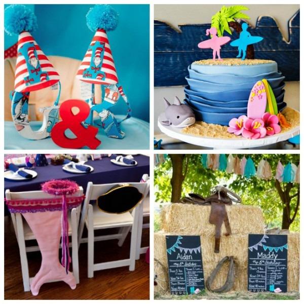14 Creative Twins Birthday Party Ideas – Tip Junkie