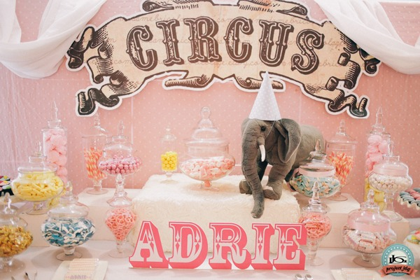 Amazing Adrie's Vintage Carnival Themed Birthday Party