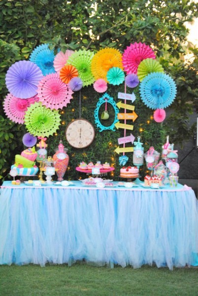 32 Kids' Alice In Wonderland Party Ideas Shelterness, Alice In