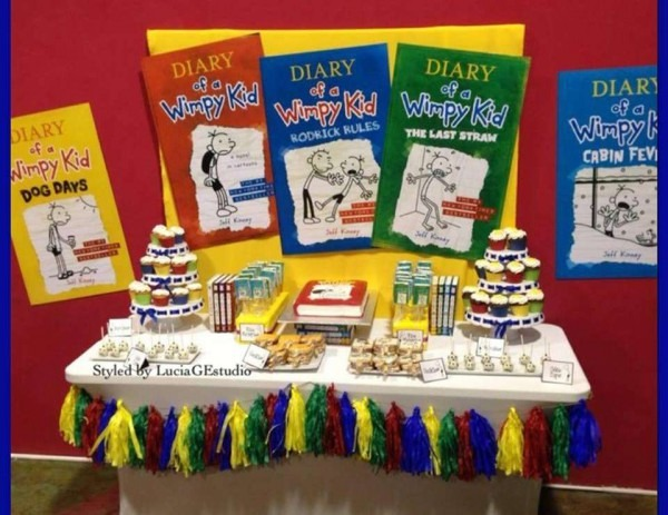Diary Of A Wimpy Kid Party Invitations