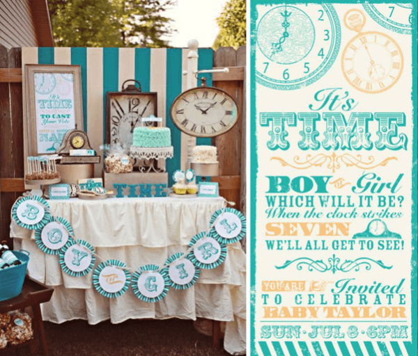 20 Charming Gender Reveal Party Ideas And Themes