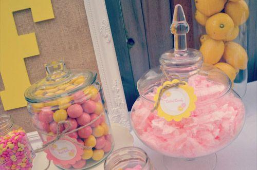 Bn Black Book Of Parties} Darling Lemonade Stand 1st Birthday