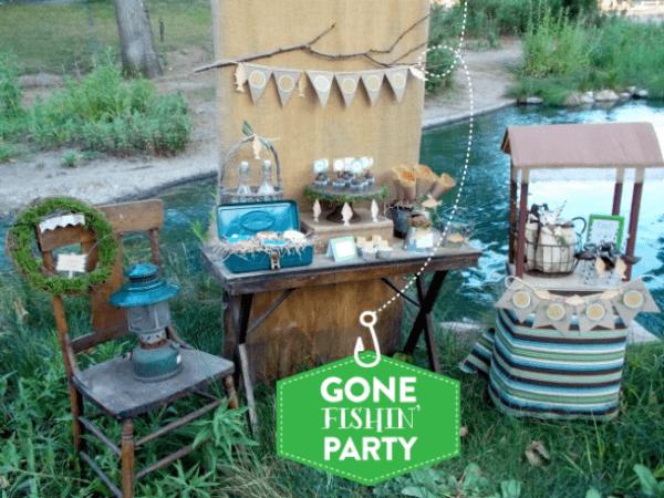 20 Fishing Themed Birthday Party Ideas