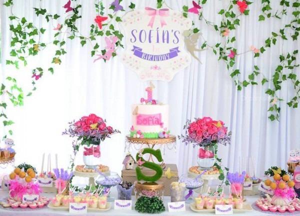 Enchanted Garden 1st Birthday Party