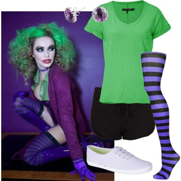 Diy Joker Costume For Poor College Students