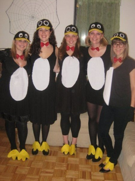 Homemade Cheap Penguin Halloween Costumes From A Few Years Ago
