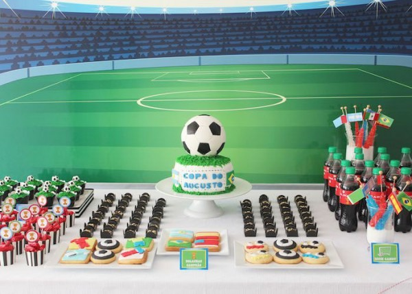 World Cup Themed Birthday Party