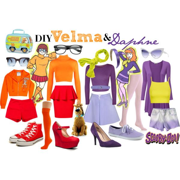 Diy Velma & Daphne Costumes In 2018