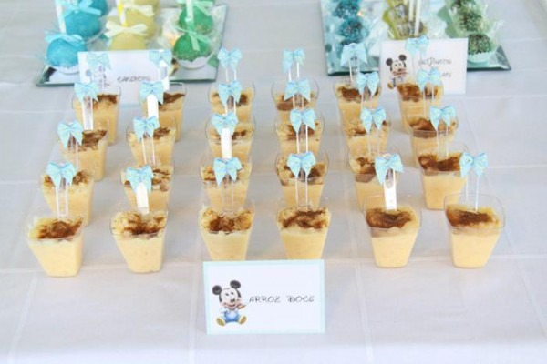 Kara's Party Ideas Baby Mickey First Birthday Party {ideas