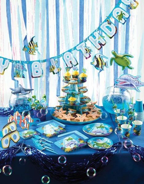 Ocean Party Theme, Party Supplies Party Idea Decoration